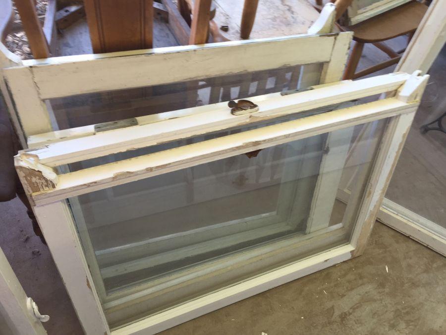 Vintage Wooden Windows Single Pane 4 6 9 12 Panes Several Of